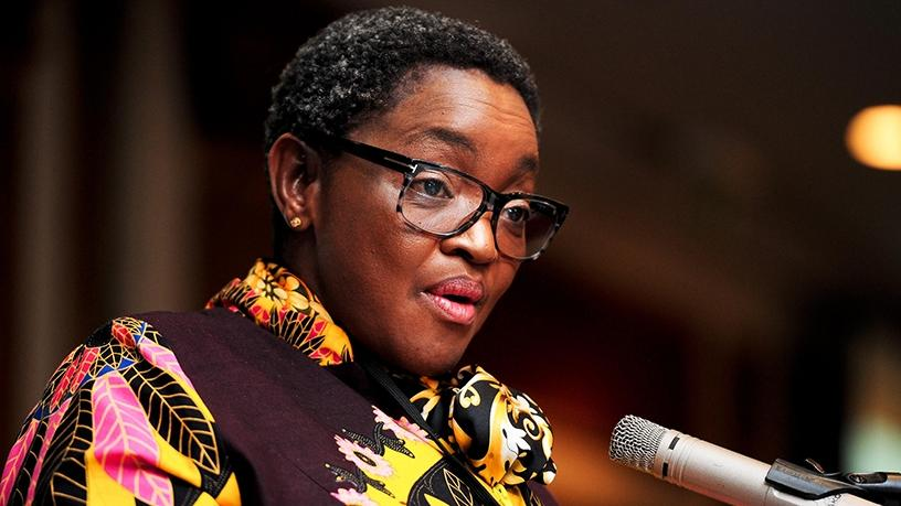 Bathabile Dlamini, who is now minister of women in the Presidency. (Photo source: GCIS)