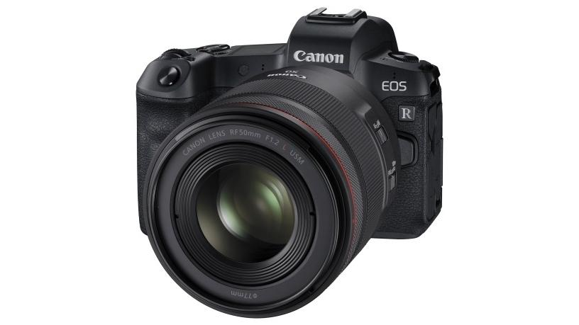 The New Canon EOS R with 50mm RF lens - revolutionises the future of photography and filmmaking (Photo: AETOSWire)