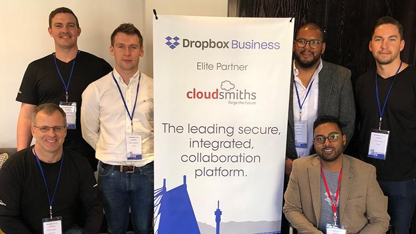 The CloudSmiths and Dropbox team.
