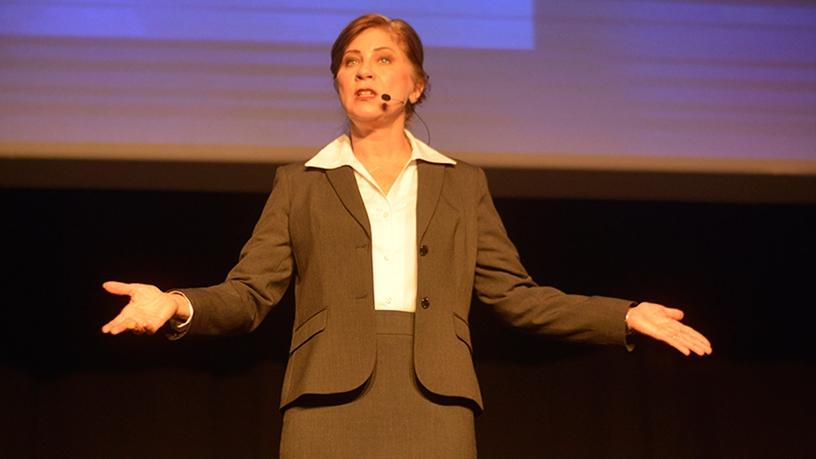 Helen Huntley, Gartner (Photo: Frank Ellis)