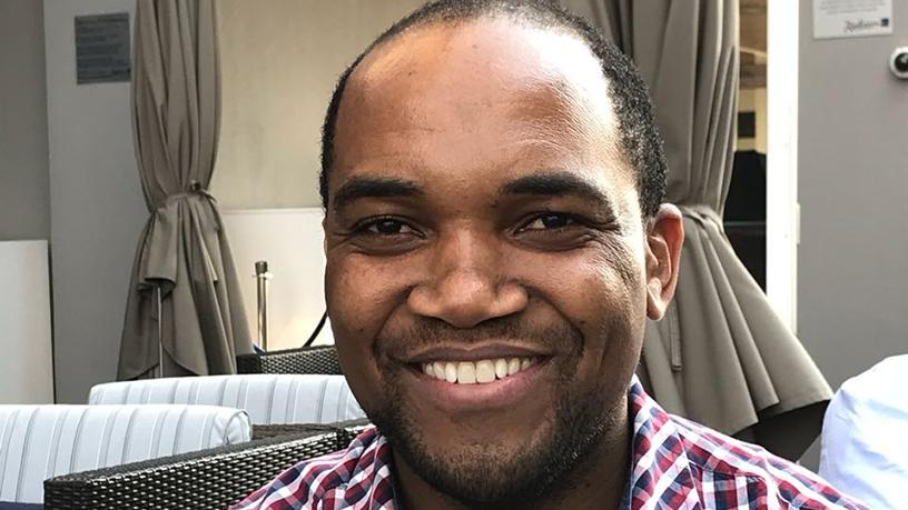 Hebert Banhire, AMA.ZING head of Zimbabwean diaspora SA.