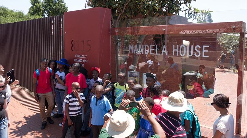 The Mandela house in Vilakazi Street, Soweto, will be one of the buildings that will be part of the 5G trial.