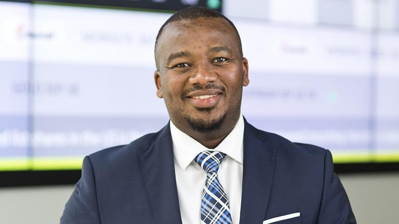Njabulo Ndaba, head of IT for trading and regulation in the IT division at JSE.