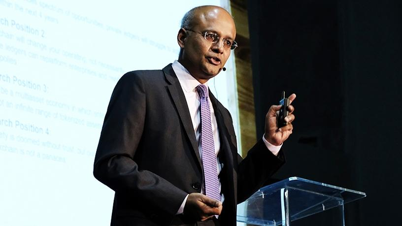 Rajesh Kandaswamy, Gartner. (Photograph by Frank Ellis)