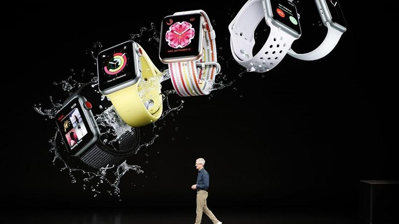 Apple CEO Tim Cook unveils the new Series 4 Apple Watch