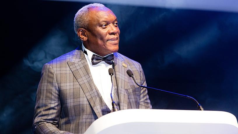 Minister of telecommunications and postal services Siyabonga Cwele. (Photo source: ITU)