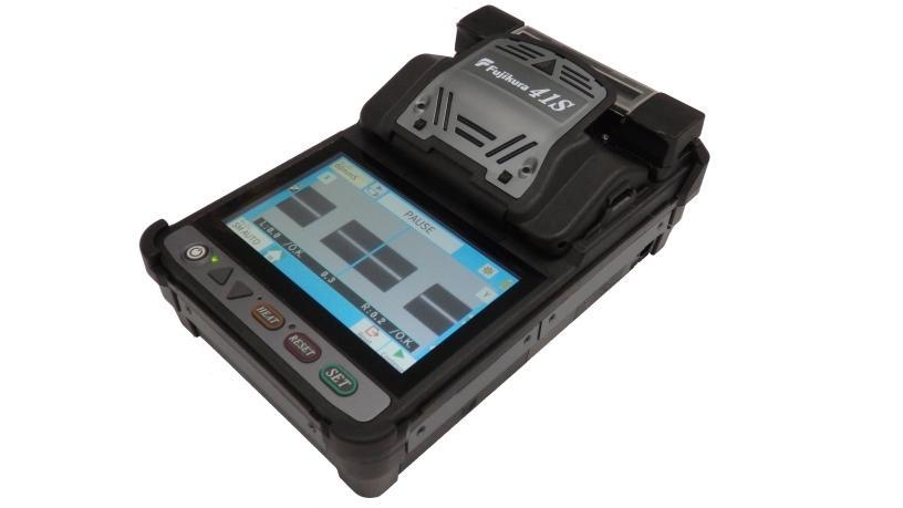 The Fujikura-41S features Bluetooth connectivity and a unique Core-Sense splicing algorithm.