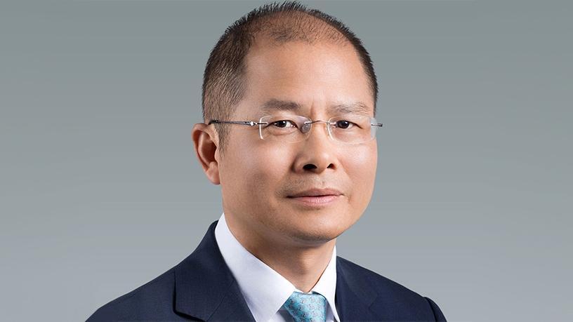 Huawei rotating chairman Eric Xu.