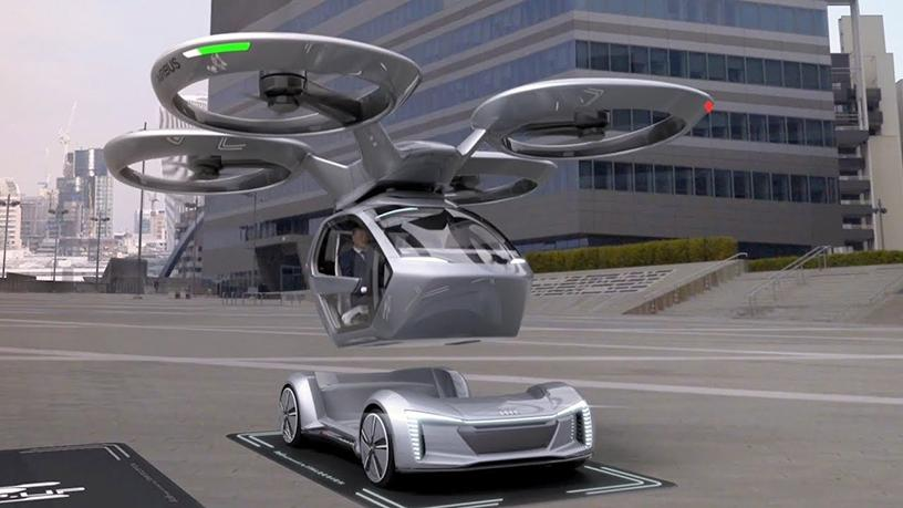 Etisalat showcased the 'Pop.Up Next' flying car outside of Europe for the first time.