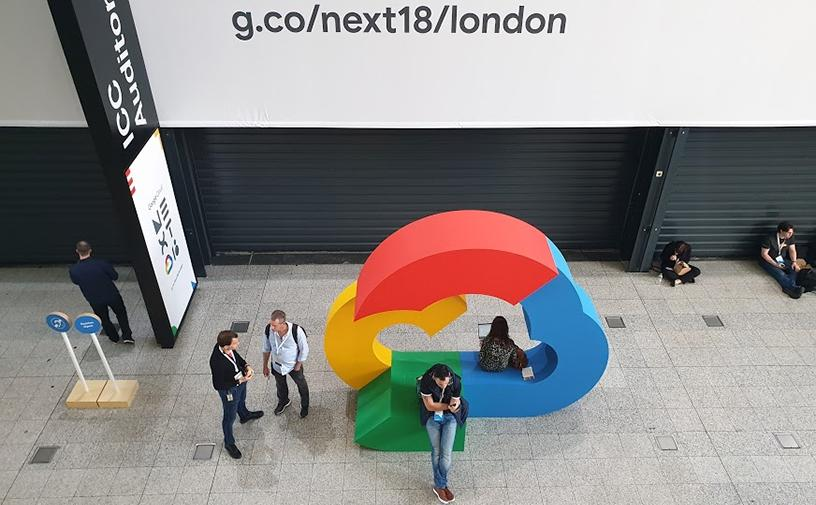 Over 8 000 people attended this year's Google Cloud Next in London.