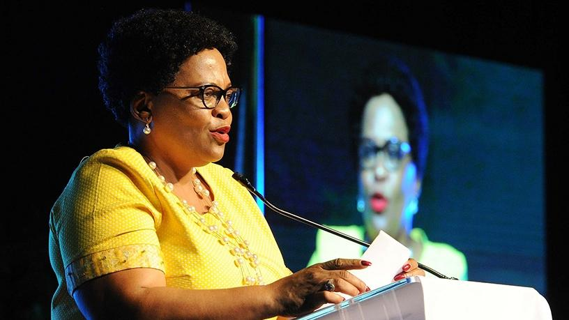 Communications minister Nomvula Mokonyane. (Photo source: GCIS)