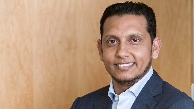 Reshaad Sha, CEO of Liquid Telecom.