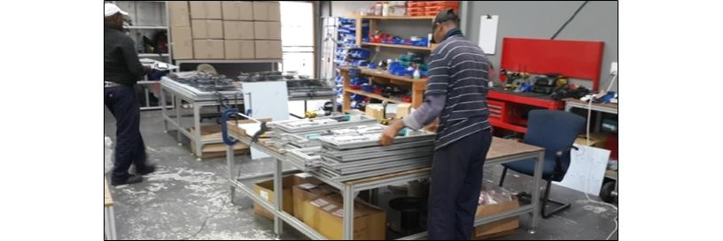 Synertech in-house manufacturing and assembly.