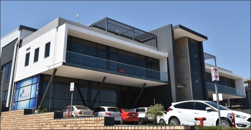 Synertech Lanseria Corporate Estate office.