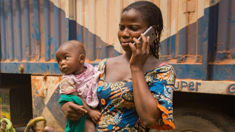 The GSMA found 184 million fewer women own mobile phones than men. (Picture courtesy of The GSMA Mobile Gender Gap Report 2018)