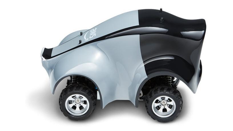 The AWS Deep Racer model race car