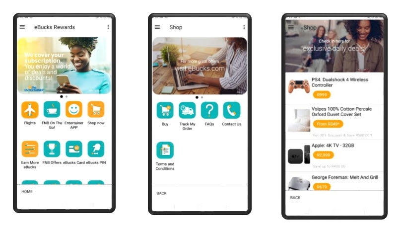 FNB adds shopping functionality to app | ITWeb