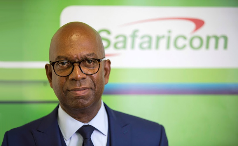 Safaricom CEO Bob Collymore.