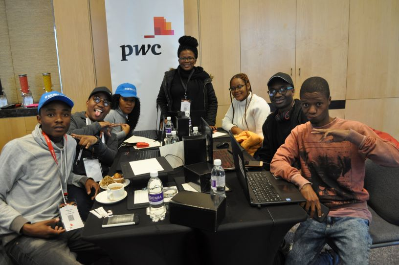 Participants as young as 13 take part in #SS19Hack.