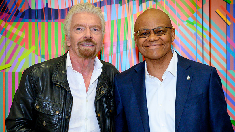 Virgin Group, Richard Branson, Nik Powell, Business Is An Adventure, Redi Tlhabi, Fani Titi, Kim Reid, Investec, Takealot.com, Virgin Records, robots - ITWeb